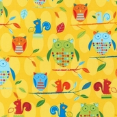 Animal Party Too Cotton Fabric - Summer - AAS-10960-193 - Clearance