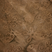 Antiqued Batiks - Flower Leaf