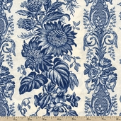 Antoinette Cotton Fabric - Blue J7014-D7