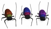 Artificial Glitter Bugs 2.5in. - Orange / Blue / Purple