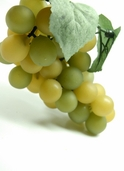 Artificial Grapes 6in - Pkg of 6 - Green - CLEARANCE
