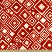 Artisan Batiks Color Source Cotton Fabric - Red AMD-13110-3