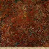 Artisan Batiks Cornucopia 2 Cotton Fabric - Pumpkin AMD-9480-148