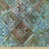 Artisan Batiks Diamonds Sorrento 2 Fabric - Venetian
