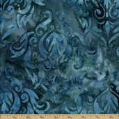 Artisan Batiks Lafayette Cotton Fabric - Teal AMD-12255-213