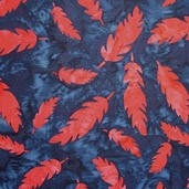 Artisan Batiks Santa Fe Trail Cotton Fabric - Red