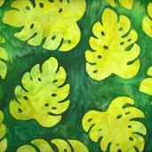 Artisan Batiks Totally Tropical - Green