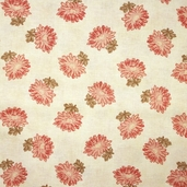 Aster Manor - Cream Fabric
