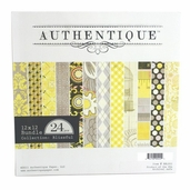 Authentique Paper Double-Sided 24 pack - Blissful - Clearance
