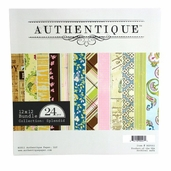 Authentique Paper Double-Sided 24 pack - Splendid - Clearance