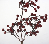 Autumn Berry Spray - 20 inch - Red
