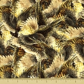 Autumn in the Air Cotton Fabric - Allover Plumes - CLEARANCE