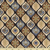 Autumn Plume Cotton Fabric - Neutral CM8667