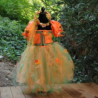 Autumn Princess Costume