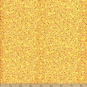 Autumn Reflections Dot Cotton Fabric - Yellow