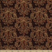 Autumn Treasures Cotton Fabric - Rust Q.1086-32622-229SM