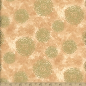 Autumn Treasures Cotton Fabric - Tan Q.1086-32621-11