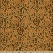 Autumn Treasures Cotton Fabric - Tan Q.1086-32622-22