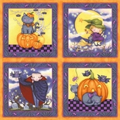 Avlyn Happy Haunting Panel - Multi