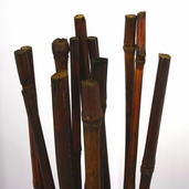 Babala Bamboo Cane Bundle 4ft - Walnut