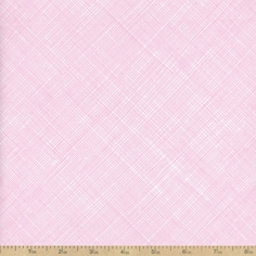 Babes in Farmland Hatch Basic Cotton Fabric - Blush