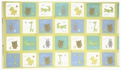 Baby Buddies Cotton Fabric - Panel 35119-X