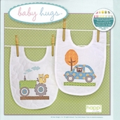 Baby Hugs Happi Transport Bibs Embroidery Kit