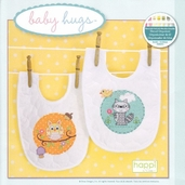 Baby Hugs Happi Woodland Bibs Embroidery Kit