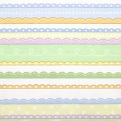 Baby Pastel - Stripes - CLEARANCE