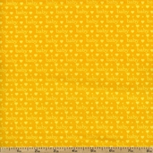 Baby Talk Baby Love Cotton Fabric - Yellow
