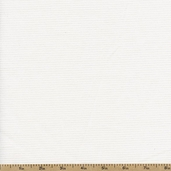 Baby Waffle Pique Cotton Fabric - White