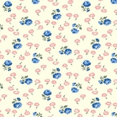 Back Porch Prints - Cream Fabric
