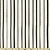 Baker's Dozen Black Cotton Fabric - Black