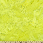 Bali Batik Hand-Dyed Watercolors Cotton Fabric - Key Lime
