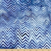 Bali Batiks Chevron Cotton Fabric - London