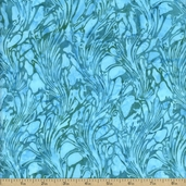 Bali Batiks Cotton Fabric - Azure K2483-1