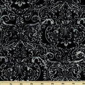 Bali Batiks Cotton Fabric - Black K2437-4