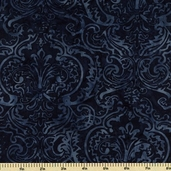 Bali Batiks Cotton Fabric - Blueberry K2437-87