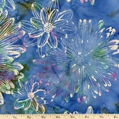 Bali Batiks Cotton Fabric - Cornflower J2369-451