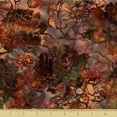 Bali Batiks Cotton Fabric - Curry J2387-26
