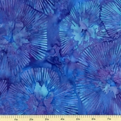 Bali Batiks Cotton Fabric - Lupine J2378-558