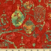 Bali Batiks Cotton Fabric - Nasturtium K2450-469