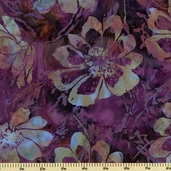 Bali Batiks Cotton Fabric - Pansy K2453-437
