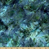 Bali Batiks Cotton Fabric - Parakeet K2480-171
