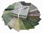 Bali Handpaints Hand-Dyes Fat Quarter Precuts - Key Lime