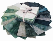 Bali Handpaints Hand-Dyes Fat Quarter Precuts - Spearmint