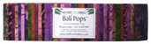 Bali Pops Fabric Strip Bundle - Wild Berry