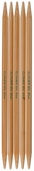 Bamboo Double Point Knitting Needles 7 inch 5/Pkg Size 6