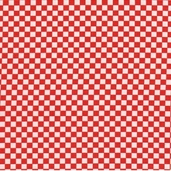 Barn Yard Babies Cotton Fabric - Red Checker