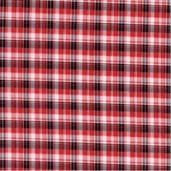 Barn Yard Babies Cotton Fabric - Red Plaid